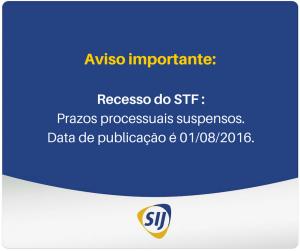RECESSO STF